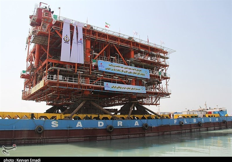 Gigantic Offshore Platform Being Shipped to Iran's Southern Gas Field