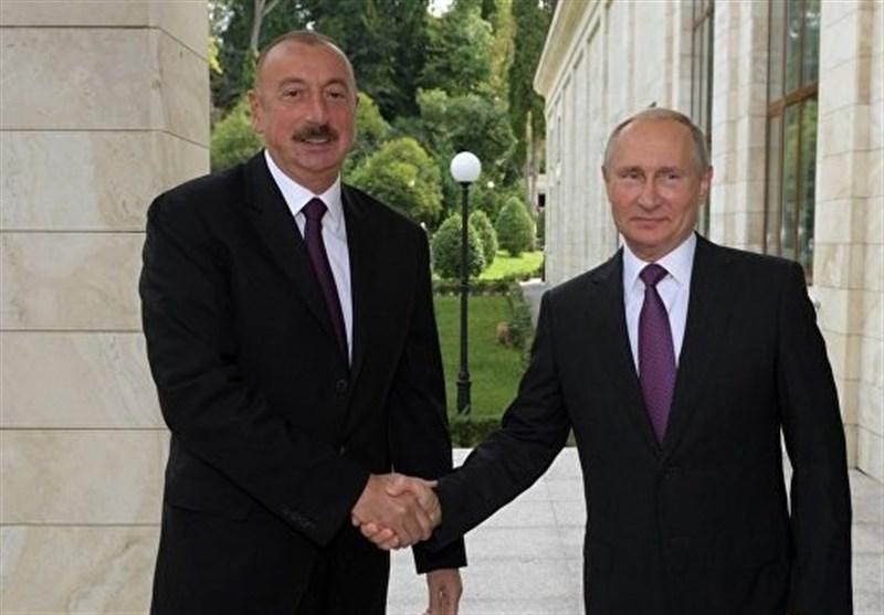 پوتین، روابط روسیه-آذربایجان را راهبردی نامید