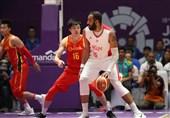 لیگ بسکتبال چین| یاران حدادی مغلوب میزبان خود شدند