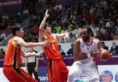 لیگ بسکتبال چین|یاران حدادی شکست خوردند