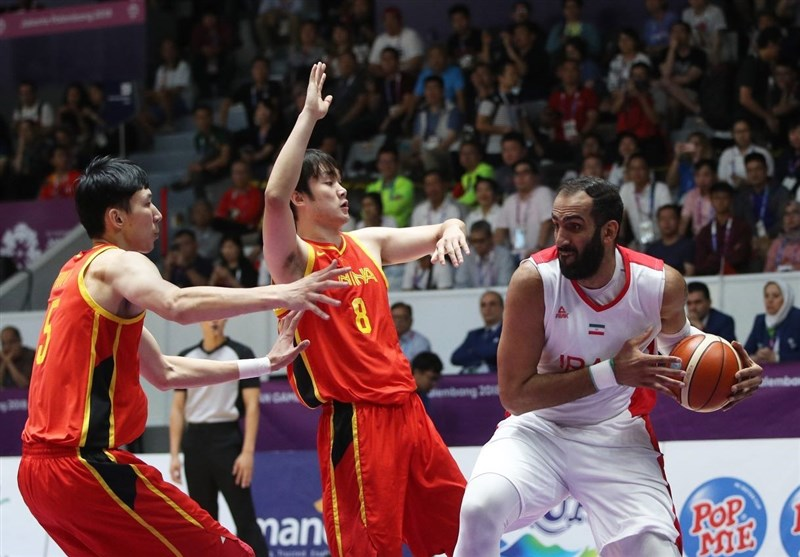 Iran Basketball Wins Silver at Asian Games