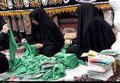 بستهبندی لباس همایش شیرخوارگان حسینی در زنجان+ تصاویر