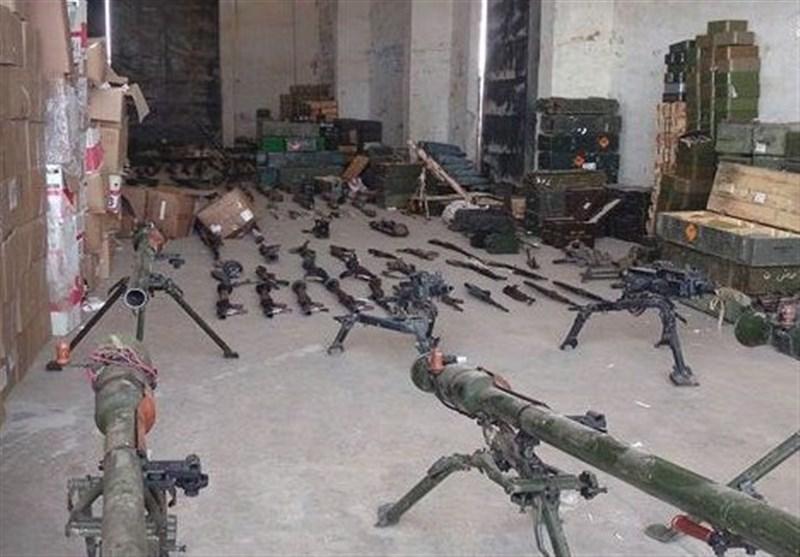 کشف سلاحهای ساخت رژیم صهیونیستی در حومه قنیطره + تصاویر