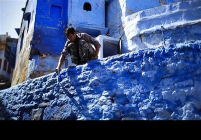 راجھستان کا نیلا شہر کے خوبصورت مناظر