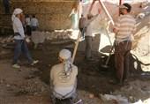 20 گروه جهادی در حاشیه شهر قزوین خدمت رسانی میکنند