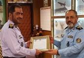 فرماندهان نیروی هوایی و قرارگاه پدافند هوایی ارتش دیدار کردند