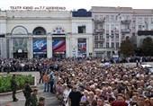 حضور بیش از 120هزار نفر در مراسم وداع با رهبر جمهوری دونتسک