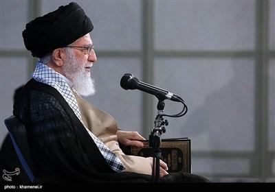 نخستین جلسه درس خارج فقه حضرت آیتالله خامنهای درسال تحصیلی جدید