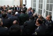 دیدار فرماندهان و مسئولان قرارگاه پدافند هوایی خاتمالانبیا (ص) ارتش با رهبر معظم انقلاب
