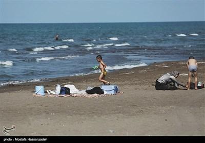 روزهای پایانی تابستان در سواحل دریای خزر