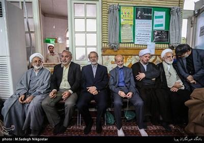 مراسم ترحیم مرحوم قمشه معاون سابق امور مجلس کمیته امداد امام خمینی(ره)