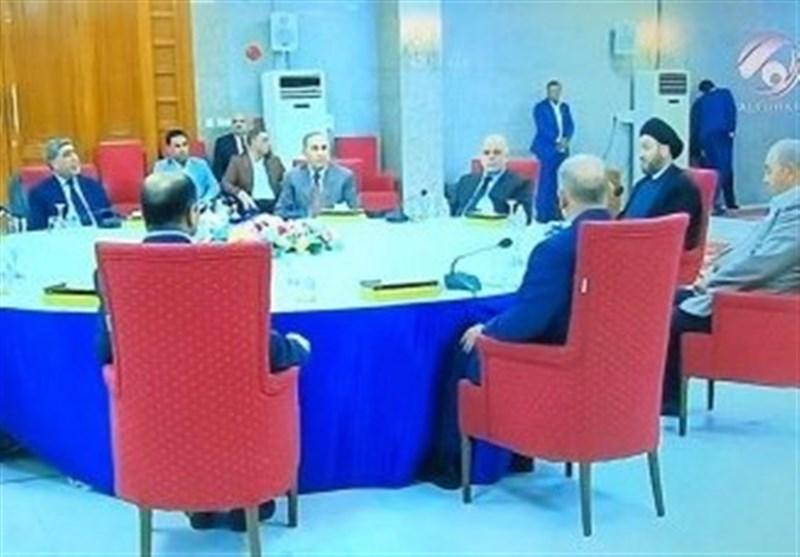 اجتماع قادة نواة الکتلة الأکبر فی بغداد عشیة الجلسة الاولى للبرلمان