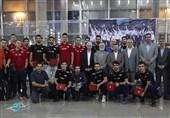 تیم ملی والیبال وارد تهران شد/ کمتر از 48 ساعت تا سفر به اسلوونی