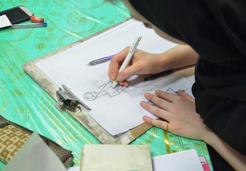 مسابقه طراحی لباس عاشورایی به روایت عکس