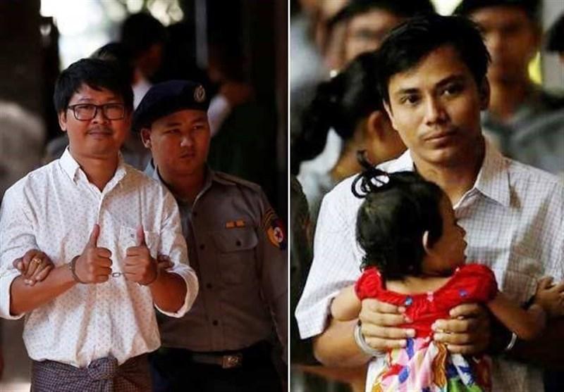 میانمار: مسلمانوں پر مظالم بے نقاب کرنے والے 2صحافیوں کو 7 سال قید کی سزا