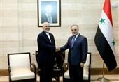 ظریف با وزیر خارجه و نخستوزیر سوریه دیدار کرد
