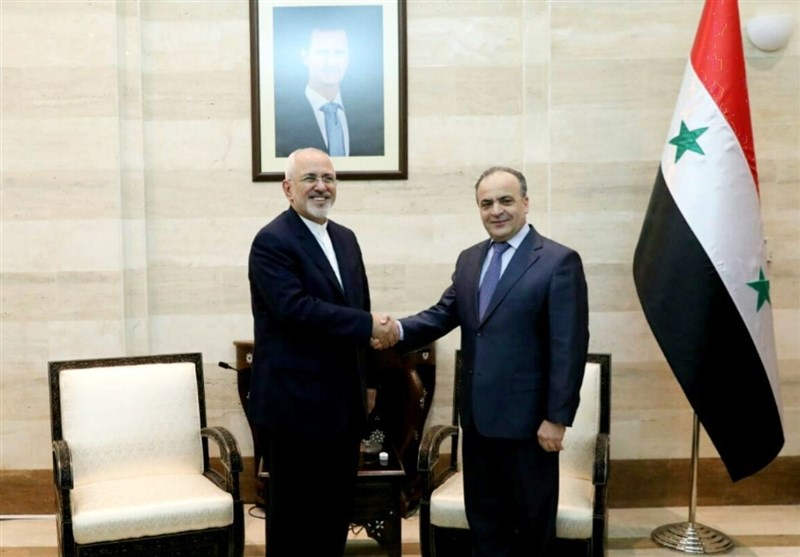 Iranian Top Diplomat Meets Syrian Counterpart, PM in Damascus