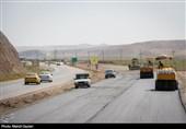 31 کیلومتر از بزرگراه اهر ـ تبریز تا پایان سال زیر بار ترافیکی میرود + تصاویر