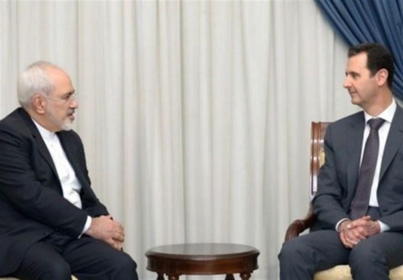 محمدجواد ظریف کی شامی صدر سے ملاقات، دہشت گردی سمیت مختلف اہم امور پربات چیت