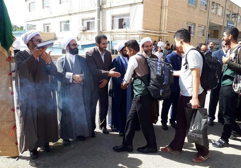 نخستین گروه جهادی دانشجویان بسیجی کردستان به مناطق محروم اعزام شدند+تصاویر