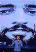 مراسم بزرگداشت شهید حججی به روایت عکس
