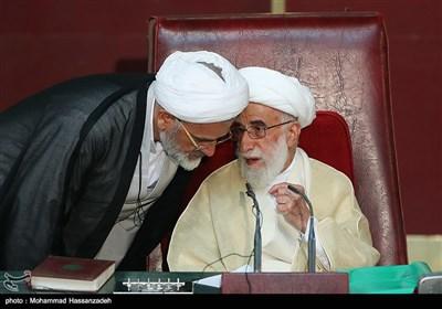 آیت الله احمد جنتی در افتتاحیه اجلاسیه مجلس خبرگان رهبری