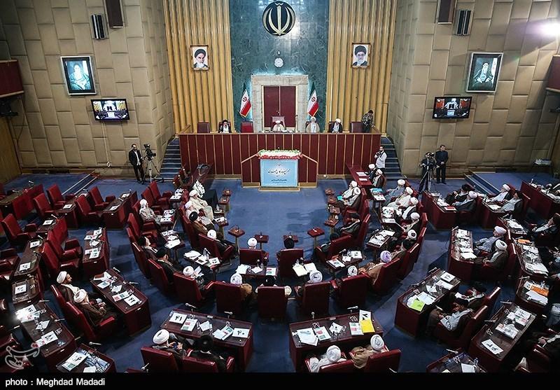 پنجمین اجلاسیه دوره پنجم مجلس خبرگان رهبری در قاب تصویر