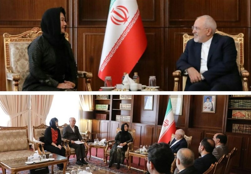 Iran's Zarif, Mongolian Deputy FM Discuss Closer Ties