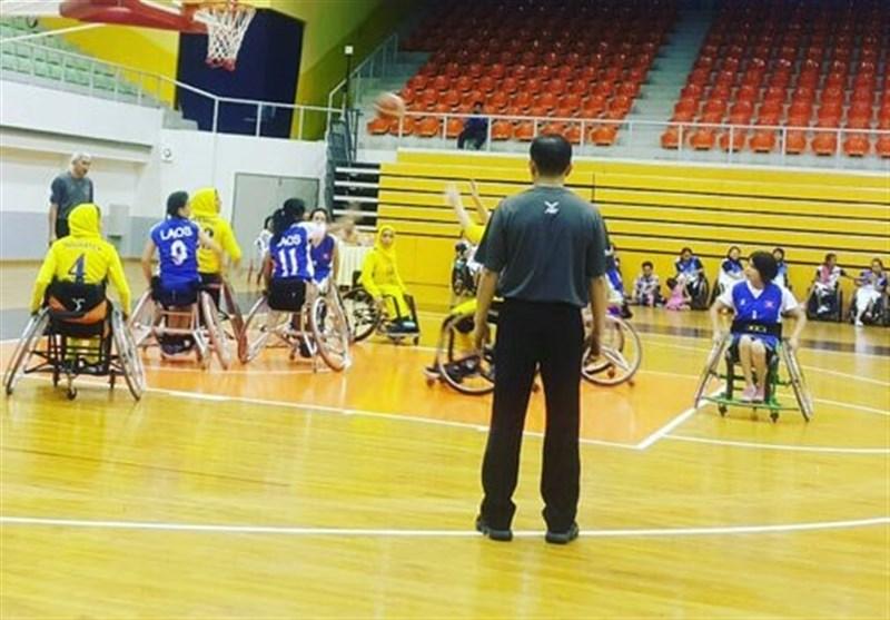 تورنمنت بینالمللی بسکتبال با ویلچر آزاد بانوان| ایران با شکست کرهجنوبی فینالیست شد