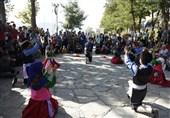 نمایشهای سومین روز از جشنواره تئاتر خیابانی مریوان به روایت تصویر