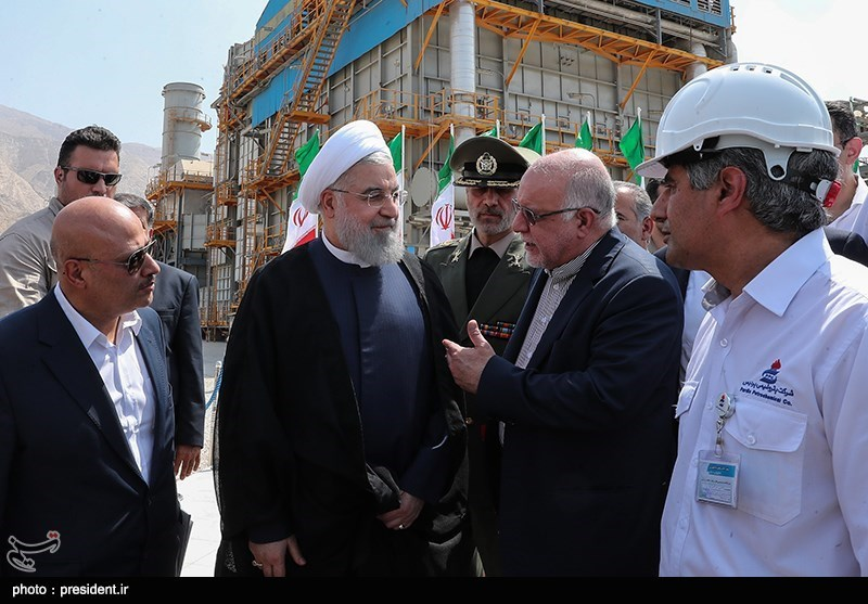 President: Iran's Energy Industry at Forefront of Economic War
