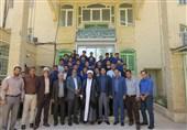 کرمان| دیدار بازیکنان تیم صنعت مس کرمان با نماینده ولیفقیه در استان به روایت تصویر