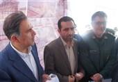 افتتاح 28 کیلومتر از باند دوم جاده هندیجان به ماهشهر با حضور وزیر راه +تصاویر