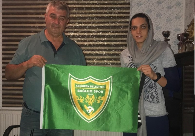 Iran's Maedeh Borhani Joins Turkey's Kecioren Volleyball Team