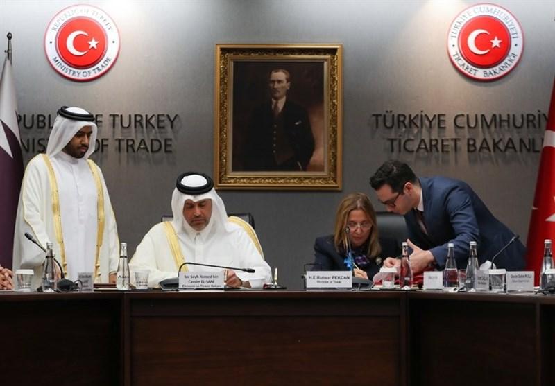 ترکیا وقطر توقعان اتفاقیة شراکة تجاریة