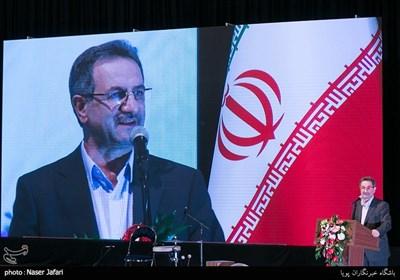 سخنرانی انوشیروان محسنی بندپی در مراسم تجلیل از بازنشستگان نمونه کشوری