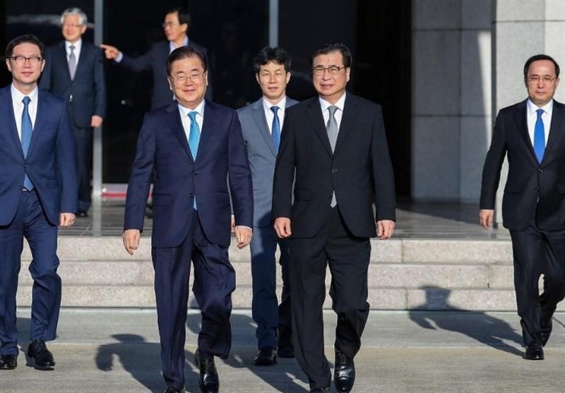 South Korean Envoys Hold Talks in North