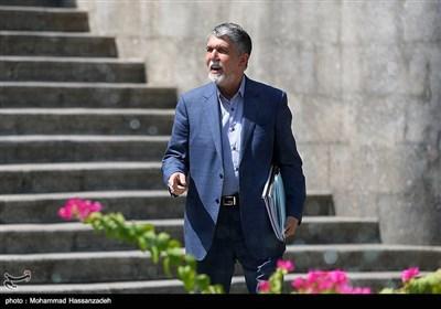 سیدعباس صالحی وزیر فرهنگ و ارشاد اسلامی در حاشیه جلسه هیئت دولت
