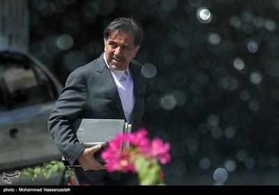 عباس آخوندی وزیر راه و شهرسازی در حاشیه جلسه هیئت دولت