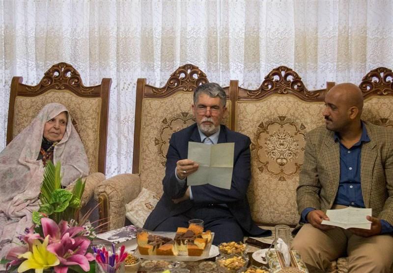 وزیر ارشاد با سیمیندخت وحیدی دیدار کرد