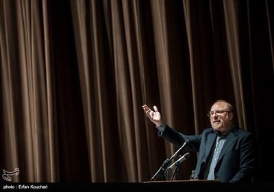سخنرانی محمدباقر قالیباف شهردار سابق تهران در هجدهمین اجلاس سراسری بسیج اساتید