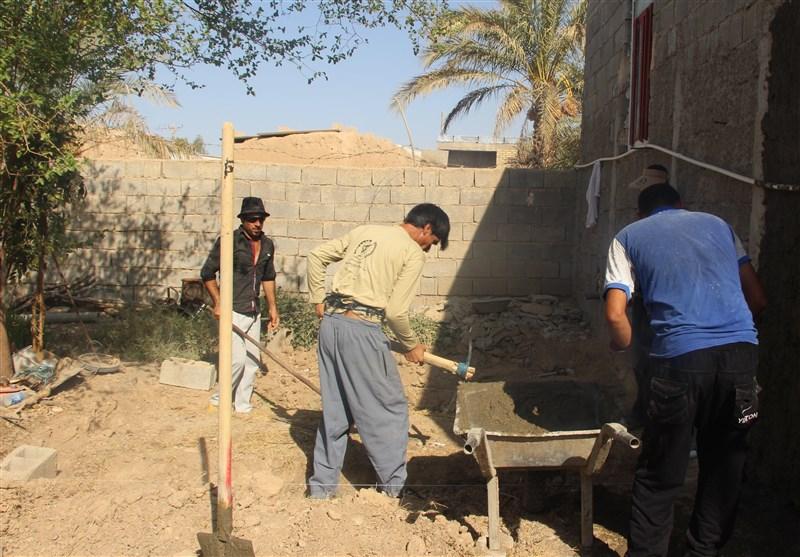 محرومیتزدایی 200 گروه جهادی در نقاط مختلف محروم استان بوشهر+تصاویر