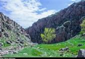 اردبیل| ظرافت و زیبایی طبیعت بکر دربند وَرگه سَران در قاب تصویر