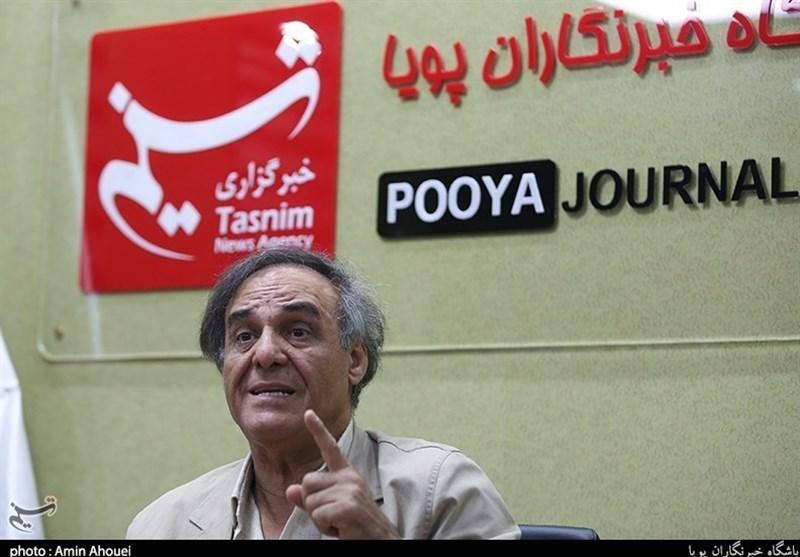 قطبالدین صادقی: تئاتر خیابانی در چارچوب یک رشته خاص گنجانده نمیشود+فیلم