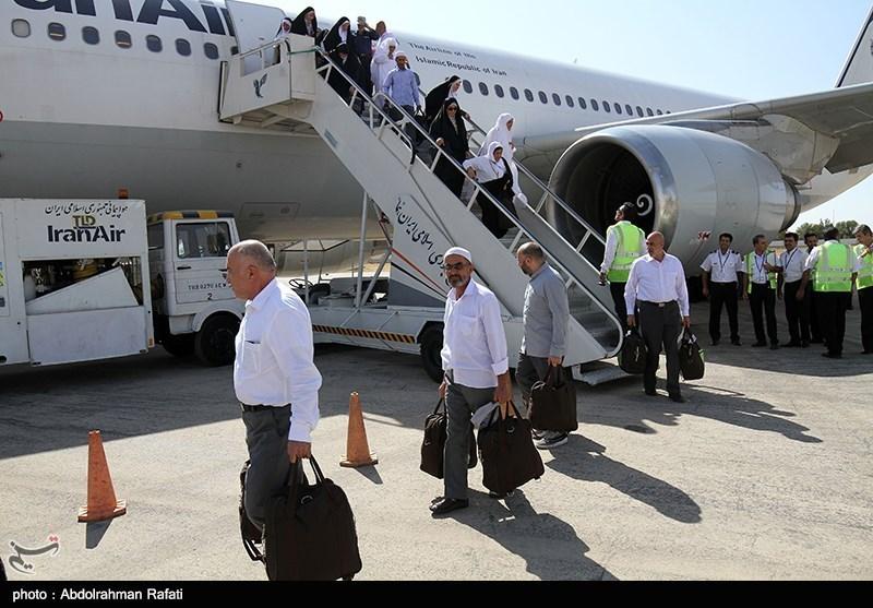 نخستین گروه از زائران بیتالله الحرام به گلستان بازگشتند؛ بازگشت حجاج در 14 پرواز