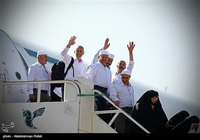 بازگشت حجاج بیت الله الحرام به همدان