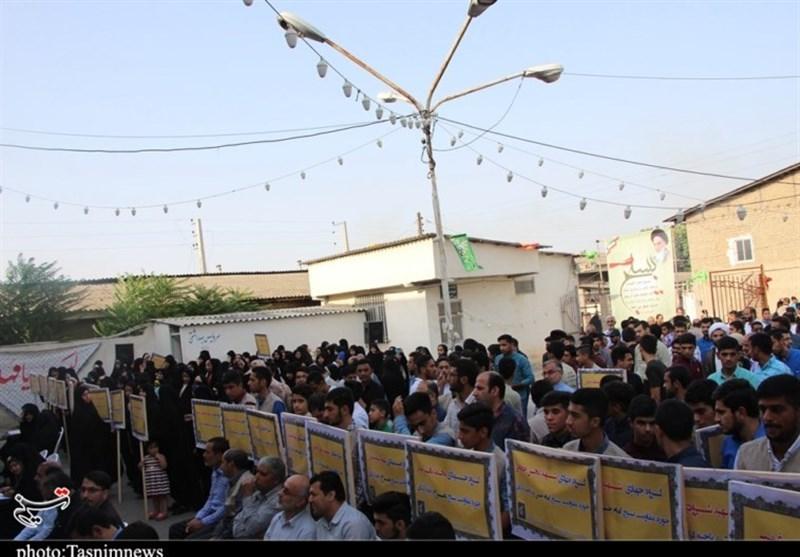 آغاز مرحله دوم رزمایش اقتدار عاشورایی و اعزام 300 گروه جهادی در گلستان+تصاویر