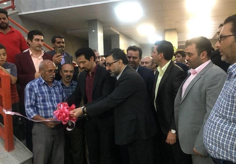 سالن ورزشی شهرک 22 بهمن کاشان افتتاح شد