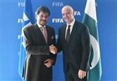 فیفا کے سربراہ نے دورہ پاکستان کی دعوت قبول کر لی
