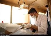 تیمهای پزشکی بسیجیان در مناطق محروم ایلام خدماترسانی میکنند
